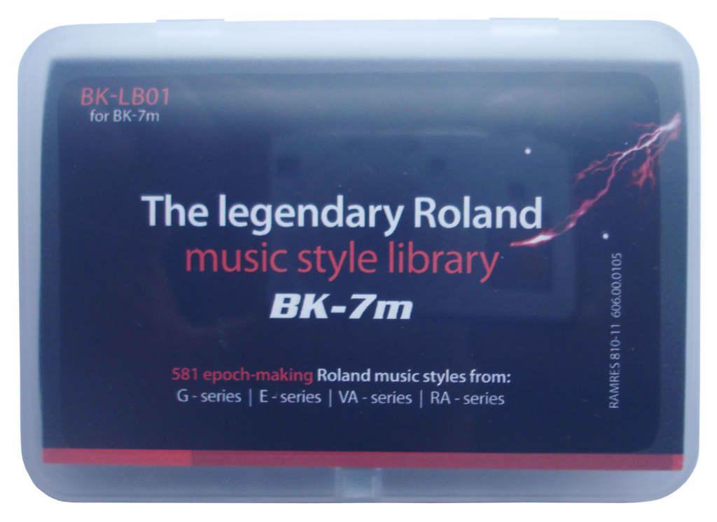 roland bk-lb01 набор стилей
