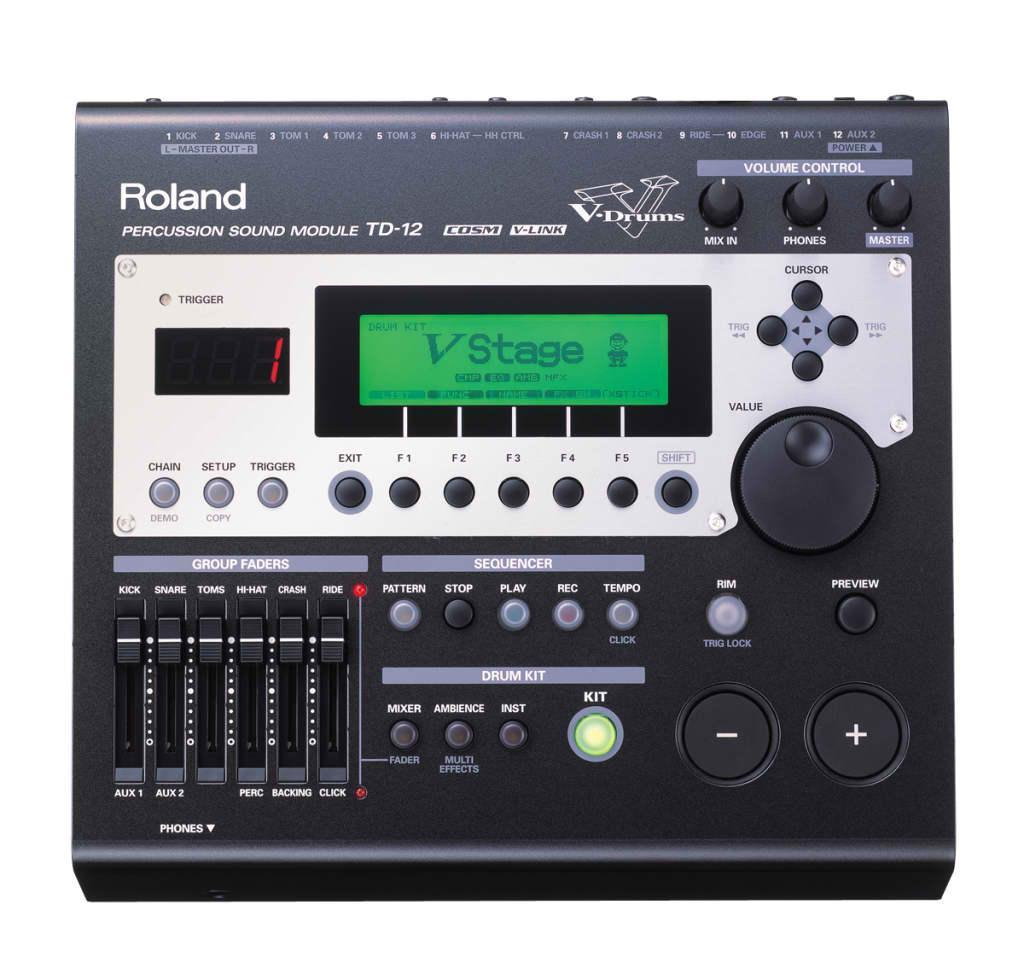 Roland td-12 инструкция на русском