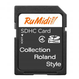 Изображение продукта RuMidi Collection Roland Style набор стилей для самоиграек